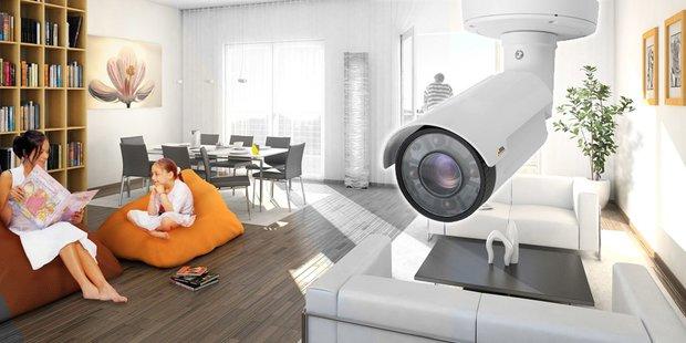 Lokale Kameras für die Heimüberwachung