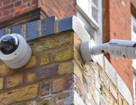 Security-Kameras im Außenbereich
