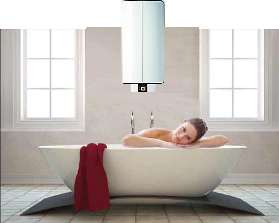 Warmes Wasser – überall und jederzeit – Strom = die Energie der Zukunft